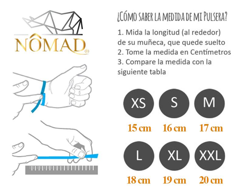 medidas para pulseras