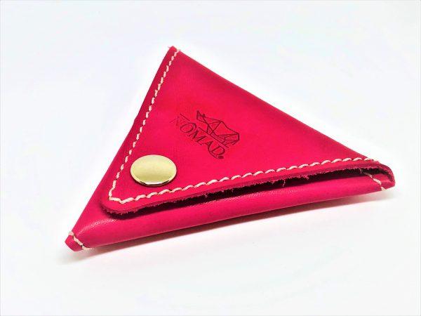 Monedero – triángulo fuxia