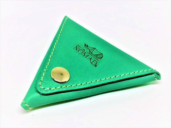 Monedero – triángulo verde