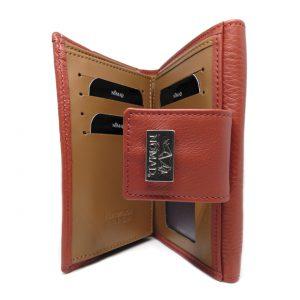CARTERA MUJER – 14 cm interior roja