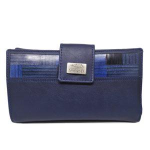 CARTERA MUJER - 18 cm azul