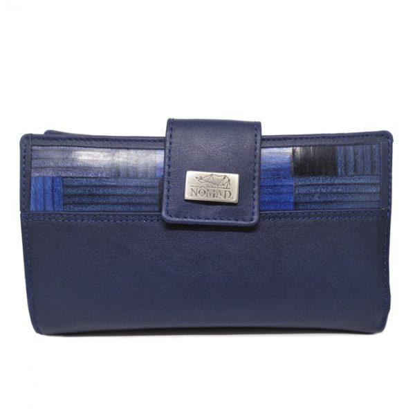 CARTERA MUJER – 18 cm azul