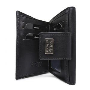 cartera mujer 14 cm interior negra