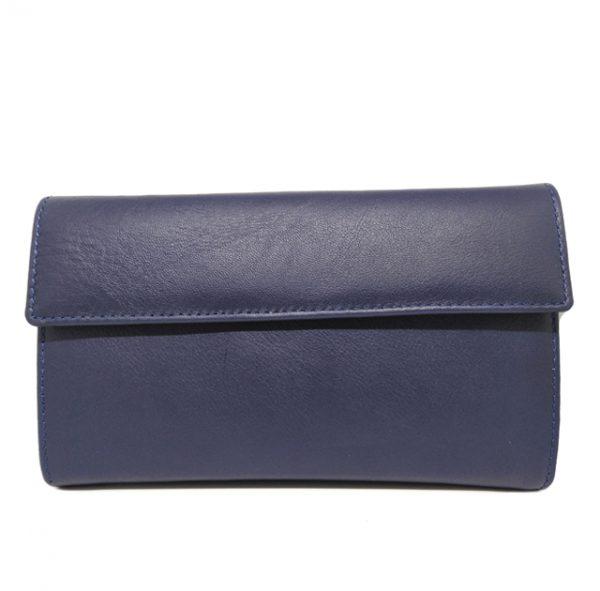 cartera mujera – 18 cm trasera azul